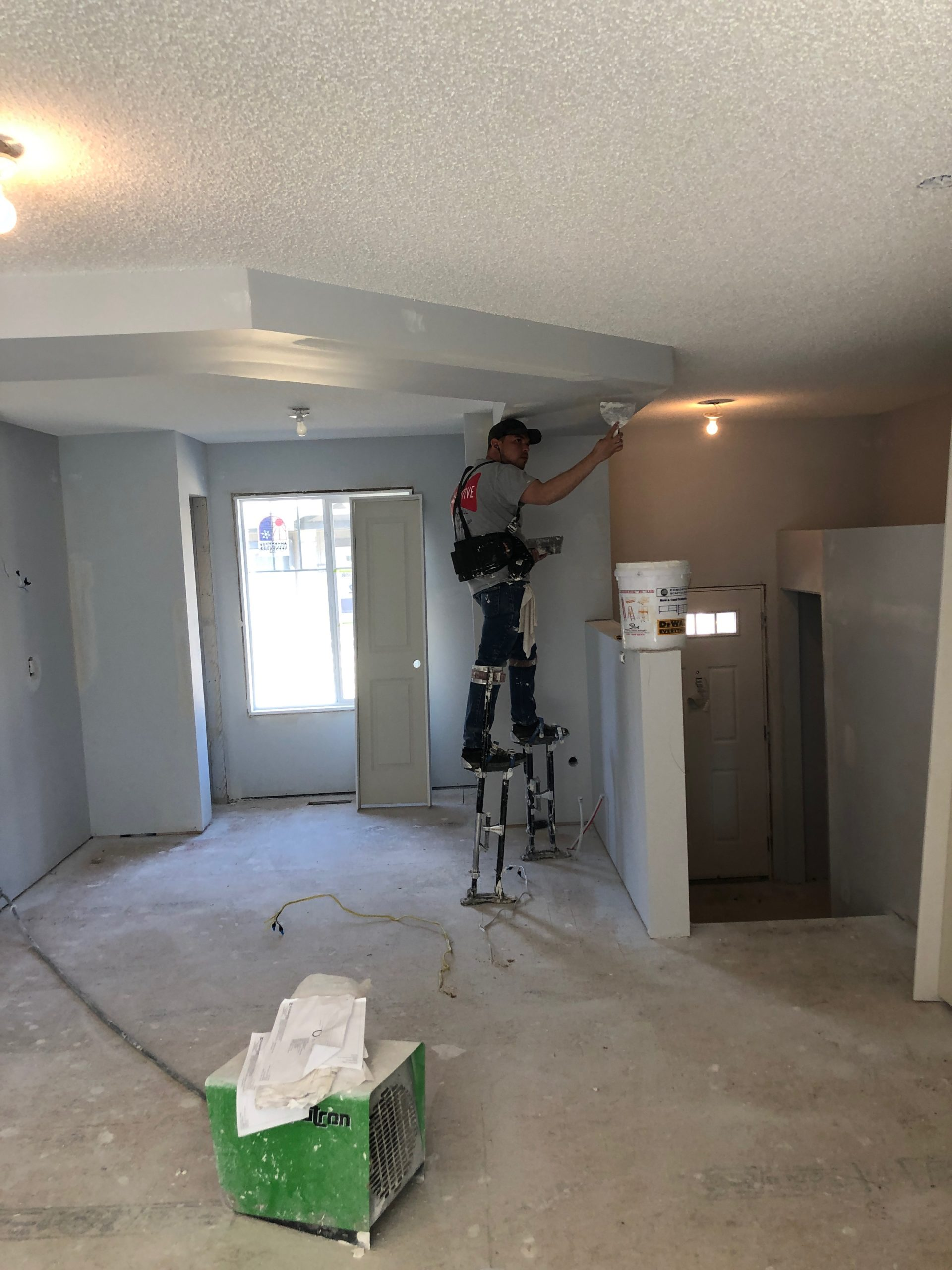 drywall repair Edmonton